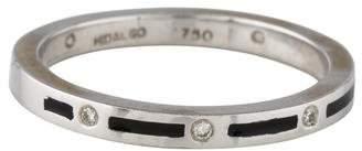 Hidalgo 18K Diamond & Enamel Ring