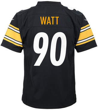 Nike T.j. Watt Pittsburgh Steelers Game Jersey, Big Boys (8-20)
