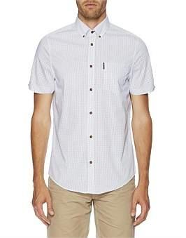 Ben Sherman Ss Diamond Geo Mod Fit Shirt