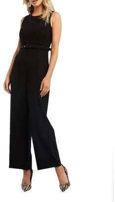 Bardot 53778PB Belted Jumpsuit