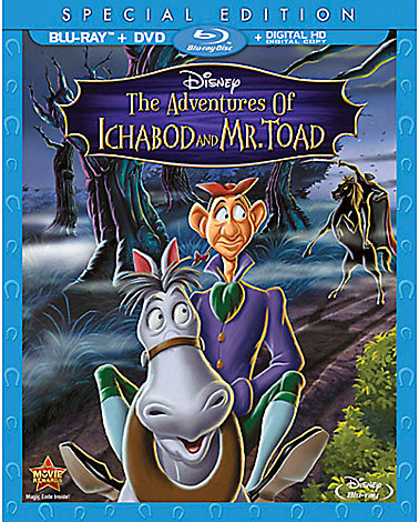 The Adventures of Ichabod and Mr. Toad Blu-ray Special Edition