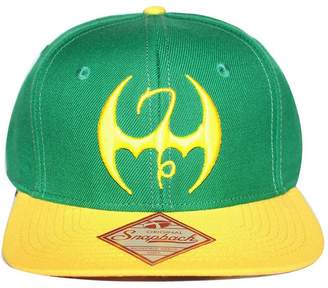 8af30988080 Bioworld Men s Licensed Iron Fist Sublimated Under Brim Snapback Hat O S   Yellow