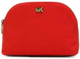 dac127047be8 MICHAEL Michael Kors logo plaque make up bag