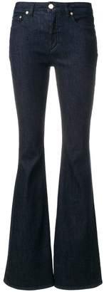 Alberta Ferretti flared high waisted jeans