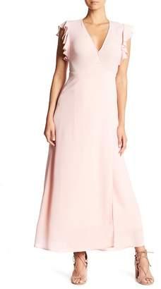 Gilli Ruffle Short Sleeve Maxi Dress