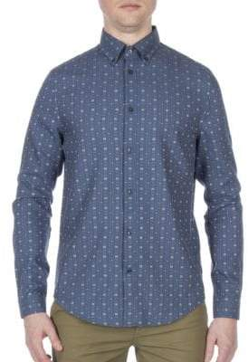 Ben Sherman Dobby Cotton Casual Sport Shirt