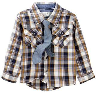Sovereign Code Ravanna Shirt & Tie (Baby Boys)