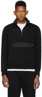 Paul Smith Black Pull-Over Jacket