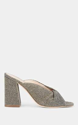 Loeffler Randall Women's Laurel Metallic Mules - Silver