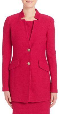 St. John Two-Button Jacket $1,495 thestylecure.com