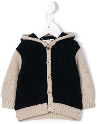 Cashmirino 'Teddy Bear' hooded cardigan