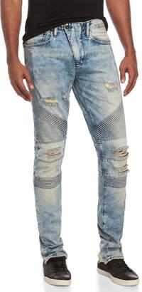 PRPS Harvested Light Wash Slim Tapered Jeans