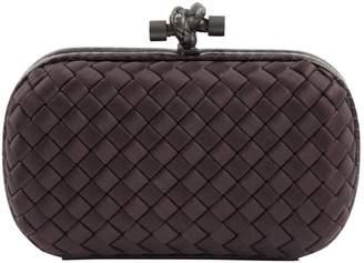 Bottega Veneta Pochette Knot Cloth Clutch Bag
