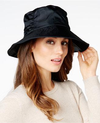 Totes Women's Ruched Wide Brim SunGuard® Rain Hat $28 thestylecure.com