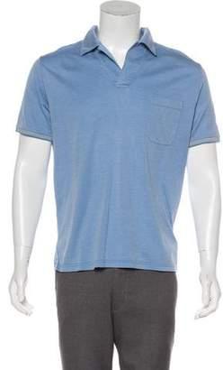 Loro Piana Silk-Blend Polo Shirt