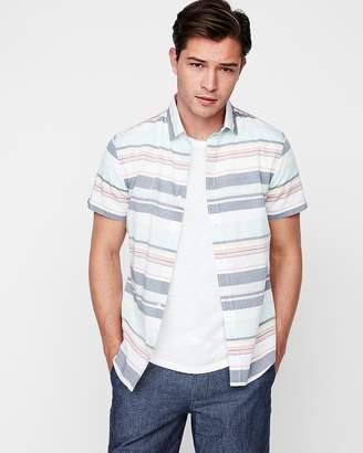 Express Slim Multicolor Stripe Shirt