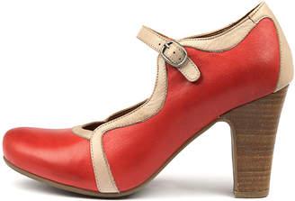 Miz Mooz Nectar Red-sand Shoes Womens Shoes Dress Heeled Shoes