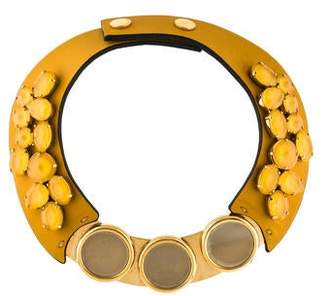 Marni Embellished Collar Necklace