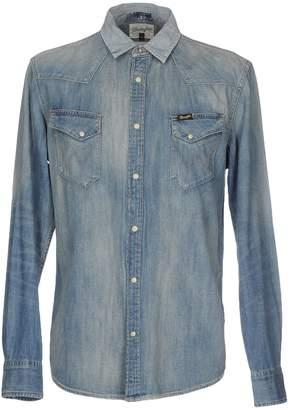 Wrangler Denim shirts - Item 42585317PJ