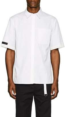 Helmut Lang Men's Tech-Inset Cotton Poplin Shirt
