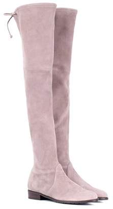 Stuart Weitzman Lowland Skimmer suede over-the-knee boots