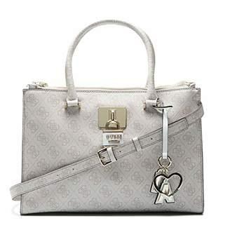 00de97f60f81 GUESS Women s Downtown Cool Status Satchel Top-Handle Bag