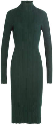 Nina Ricci Wool-Silk Turtleneck Dress