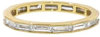 Couture Sethi Channel Set Baguette Band Ring - Yellow Gold