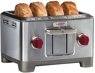 Wolf Gourmet Four-Slice Toaster ICBWGTR104SC