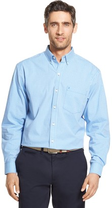Izod Big & Tall Premium Essentials Classic-Fit Button-Down Shirt
