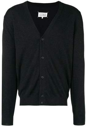 Maison Margiela elbow patch knitted cardigan
