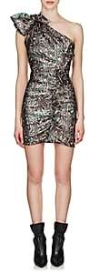 Isabel Marant Women's Synee Metallic Jacquard Dress-Green