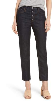 AG Jeans Isabelle High Waist Ankle Jeans