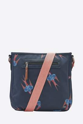 Animal Womens Indigo Blue Uplift Cross Body Bag - Blue