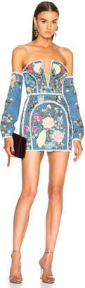 Dundas Detachable Sleeve Corset Dress
