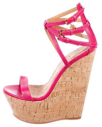 DSQUARED2 Lizard Platform Wedges