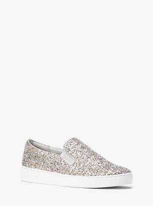 MICHAEL Michael Kors Keaton Glitter Slip-On Sneaker