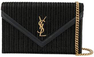 Saint Laurent square clutch bag