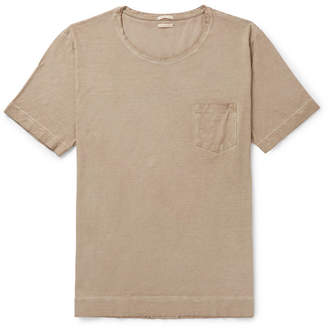 Massimo Alba Watercolour-Dyed Cotton-Jersey T-Shirt