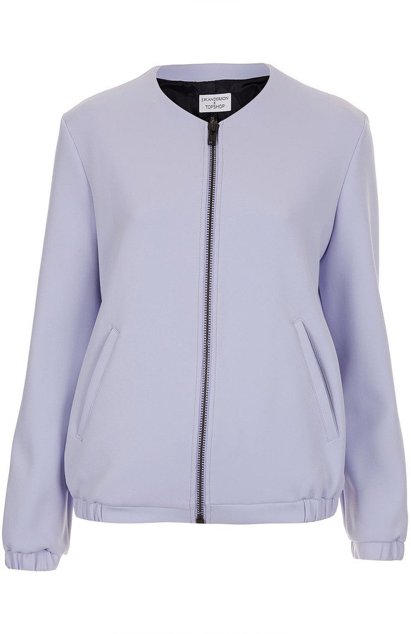 J.W.Anderson **Neoprene Jacket By For Topshop