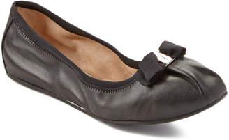 Salvatore Ferragamo My Joy Nappa Leather Ballet Flat