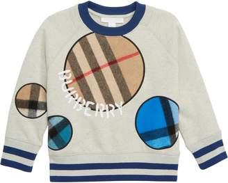 Burberry Check Dots Sweatshirt