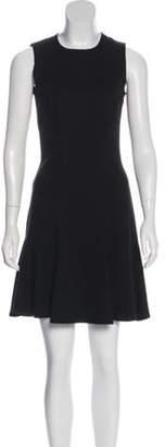 Michael Kors Sleeveless Flounce Dress Black Sleeveless Flounce Dress