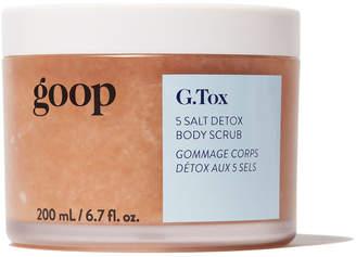 Goop Body Body G.tox 5 Salt Detox Body Scrub