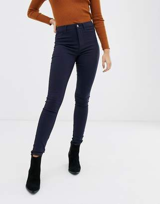 Pieces high waisted jeggings