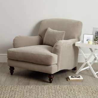 The White Company Petersham Velvet Armchair