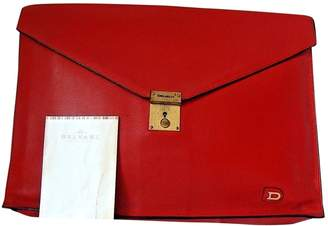 Delvaux Vintage Red Leather Bag