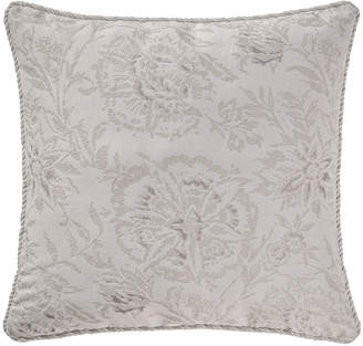 """Waterford Sophia Floral Pillow, 18""""Sq."""