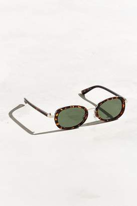 Urban Outfitters Semi Round Metal Bridge Sunglasses