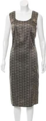 Rena Lange Patterned Midi Dress